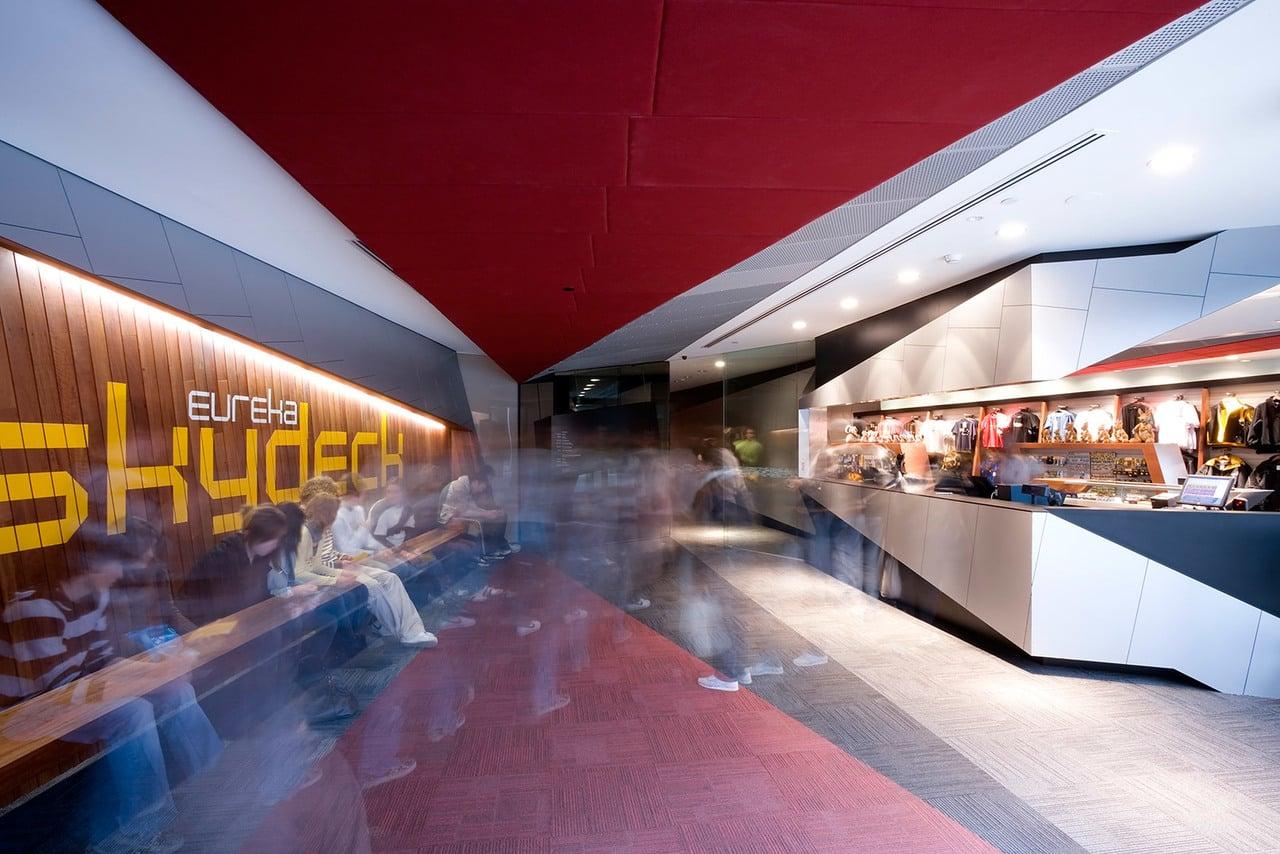Anodised aluminium interior finishes at Level1Eureka02