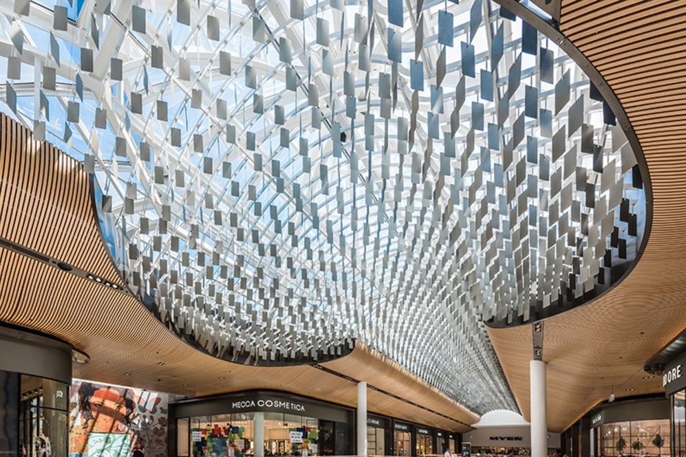 Eastlands Shopping Centre - Feature Ceiling - Chandelier2