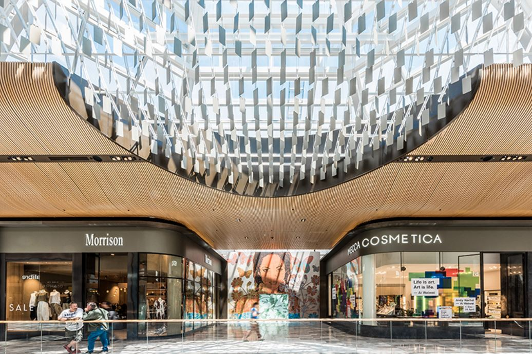 Eastlands Shopping Centre - Feature Ceiling - Chandelier5