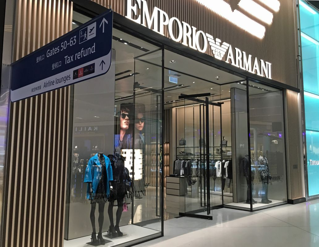 Giorgio Armani Store International Airport2