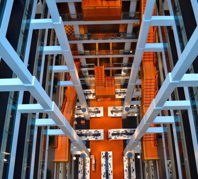 Macquarie Bank HQ - Internal Stairs1