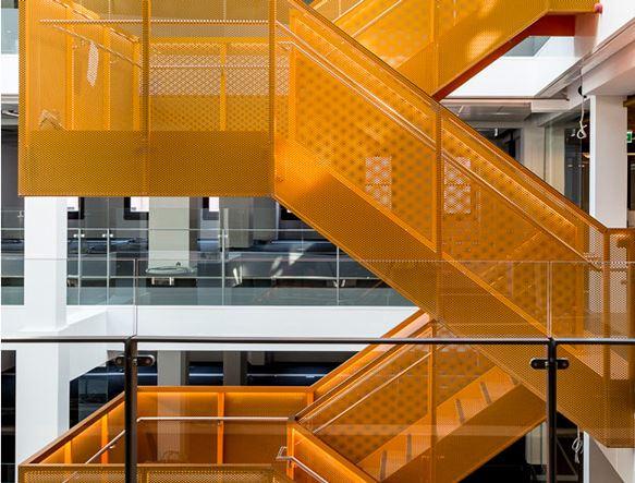 Macquarie Bank HQ - Internal Stairs2