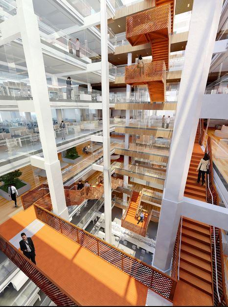 Macquarie Bank HQ - Internal Stairs3