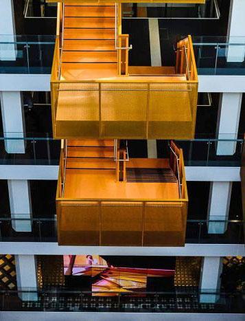 Macquarie Bank HQ - Internal Stairs4