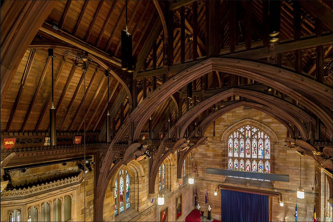 The Great Hall of the University of Sydney1