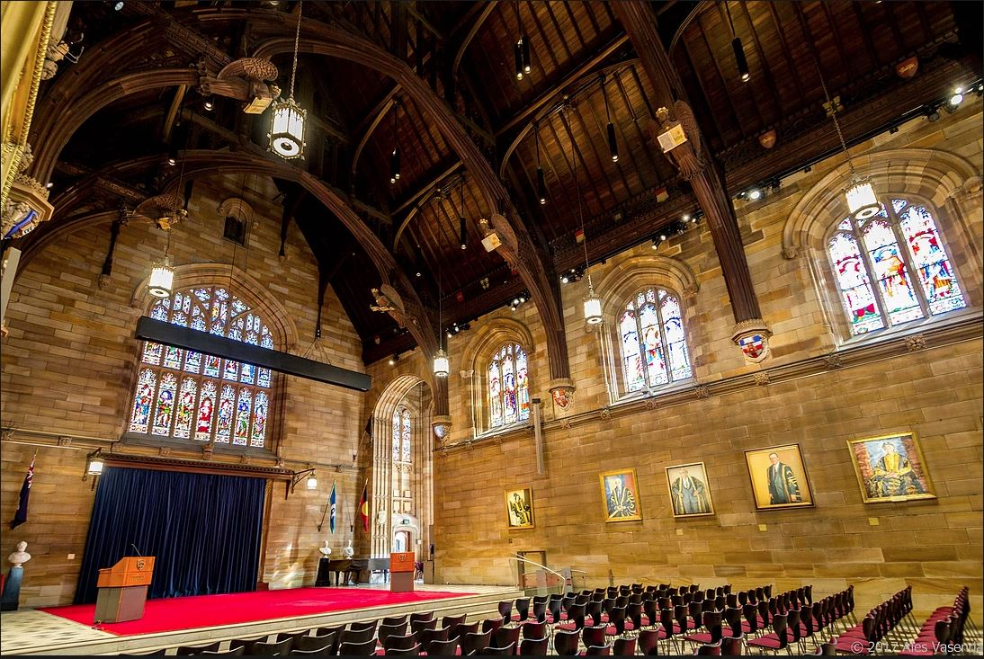 The Great Hall of the University of Sydney3