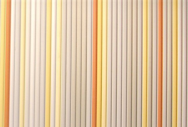 anodised Extrusions for wall design - entryway