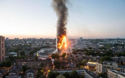 Core of Grenfell cladding panels burned as hot as flaming petrol and turned into fiery droplets raining down from tower block blaze, says expert