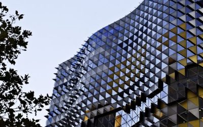 New RMIT icon completed in Melbourne, by BM and Lyons Architects